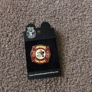 Other - Mickey Official pin Fire Dept.